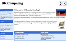 Tablet Preview of dkcomputing.co.uk